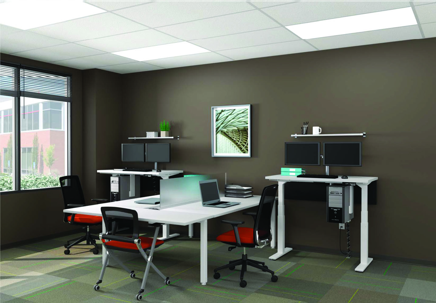 Modular Workstations Cubicle Furniture Office