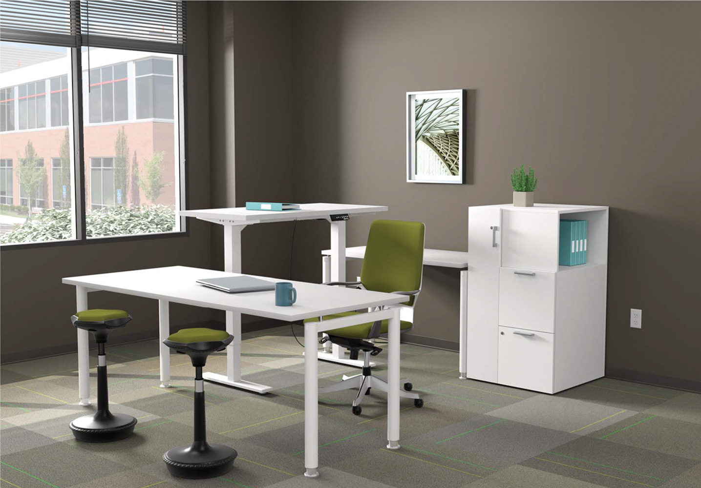 Executive Office Furniture Suites - Leaders Office Furniture Sets