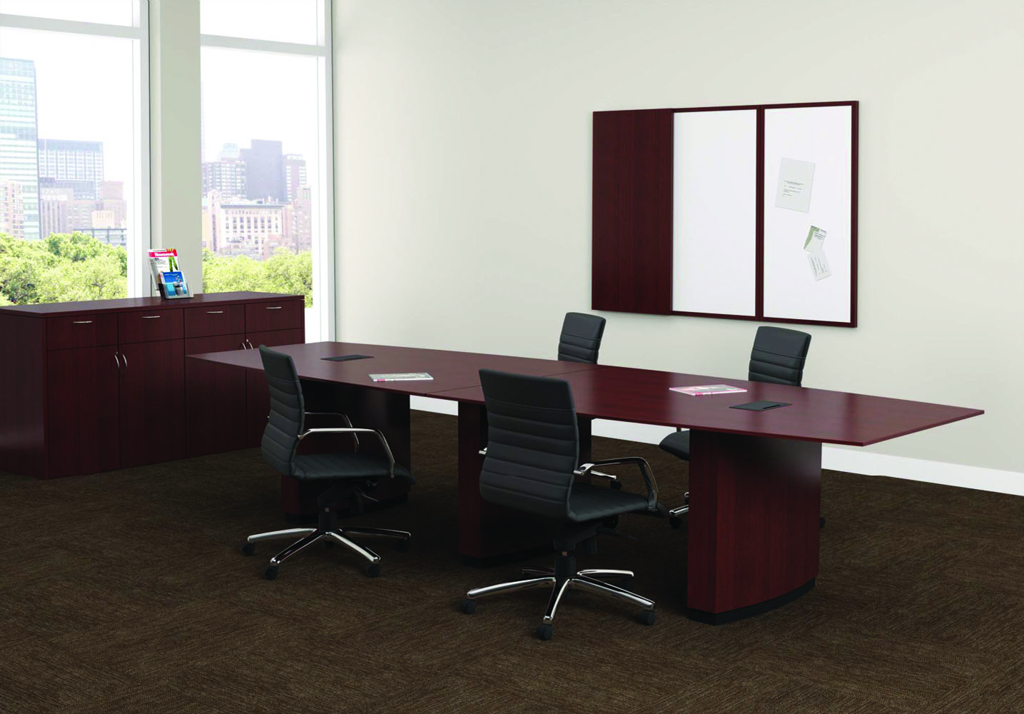 Office Table And Chair Set Meeting Room Furniture