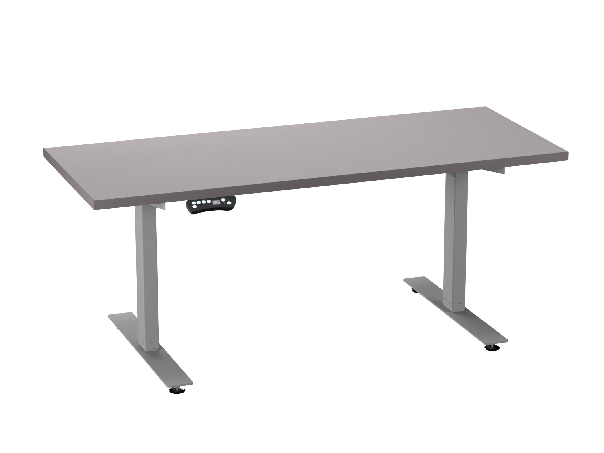 Cubicle Furniture from Compel - HiLo adjustable table
