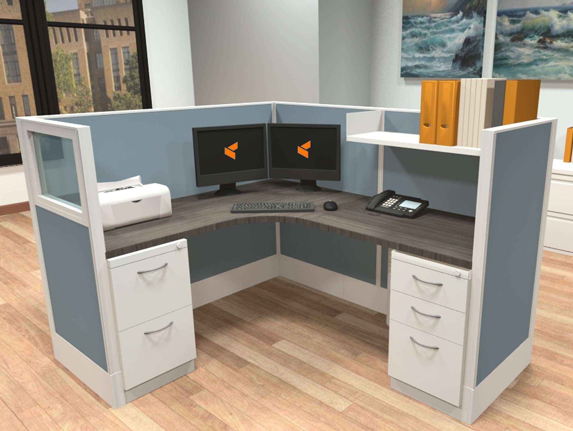 Modular Office Furniture Systems - Divi AIS Furniture