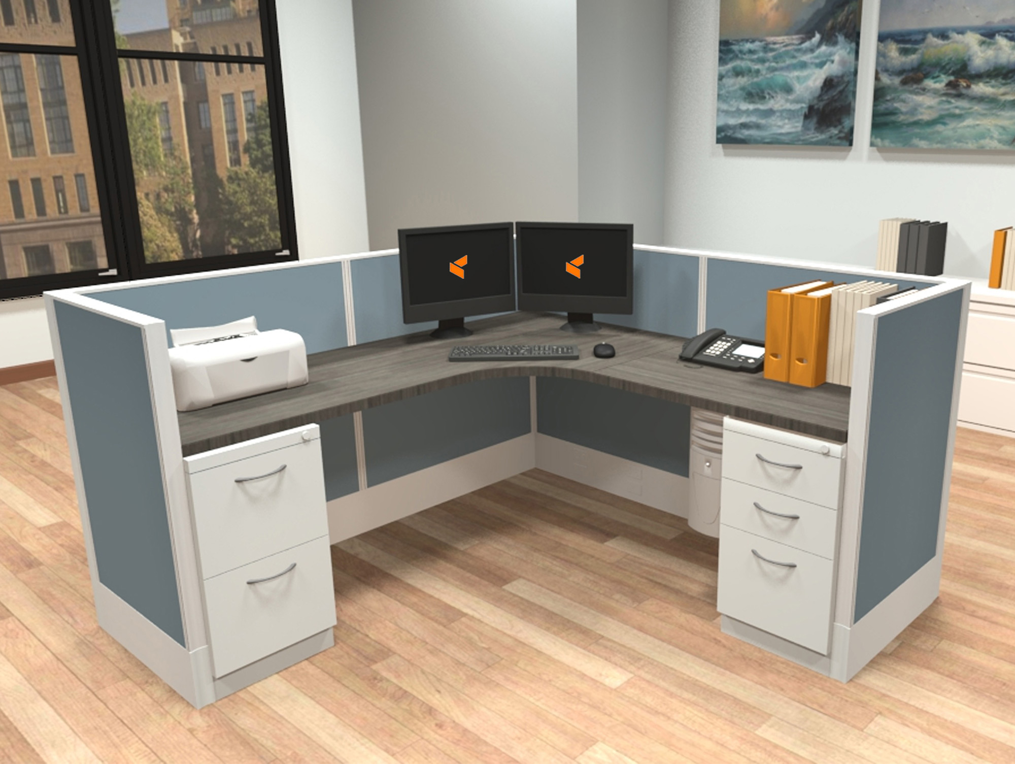 Modular Desk System Modular Workstations Ais Furniture