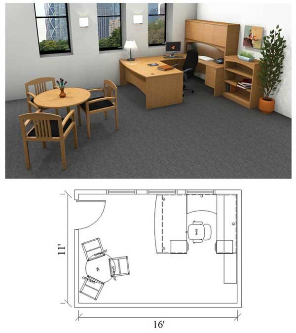Large Office (11u0027X14u0027) ...