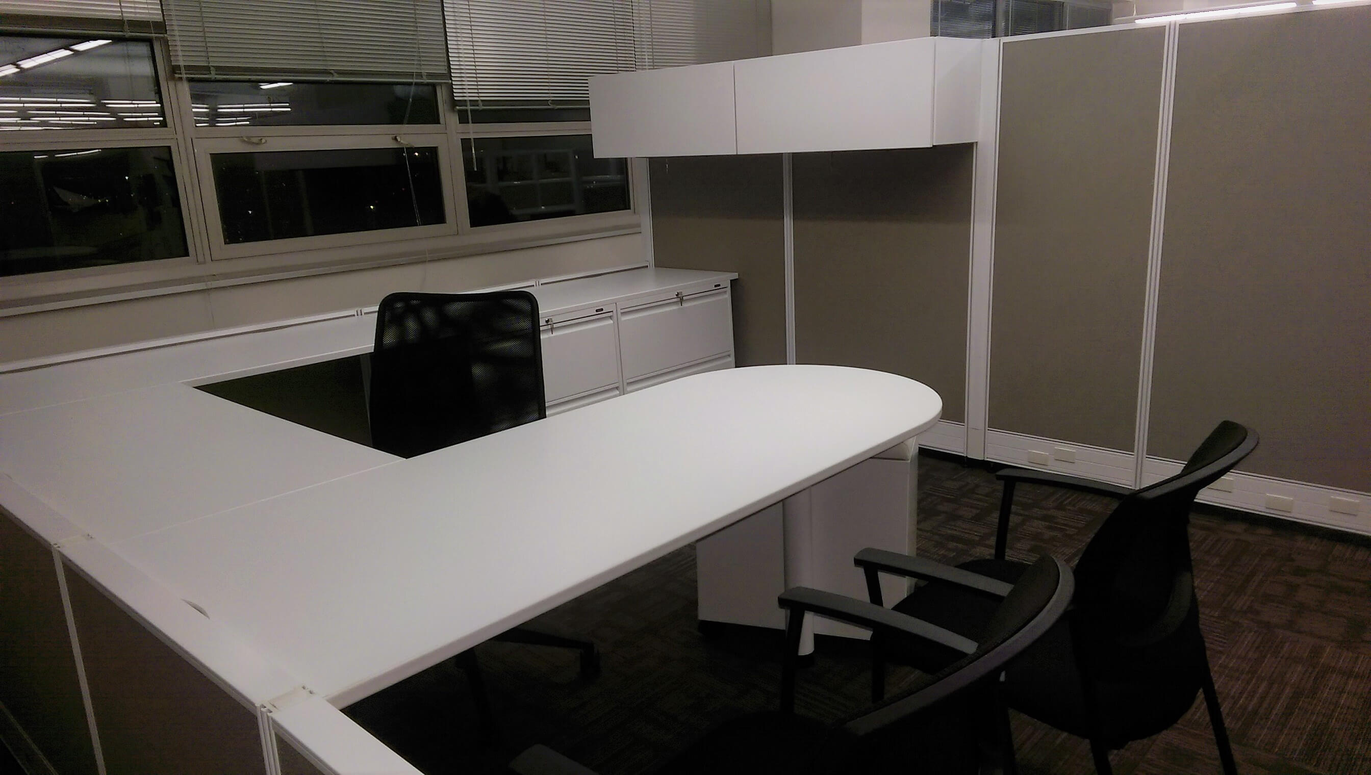 Office design furniture installation in queens ny for lefrak