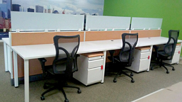 office furniture, cubicles, filing, seating, and so much more.